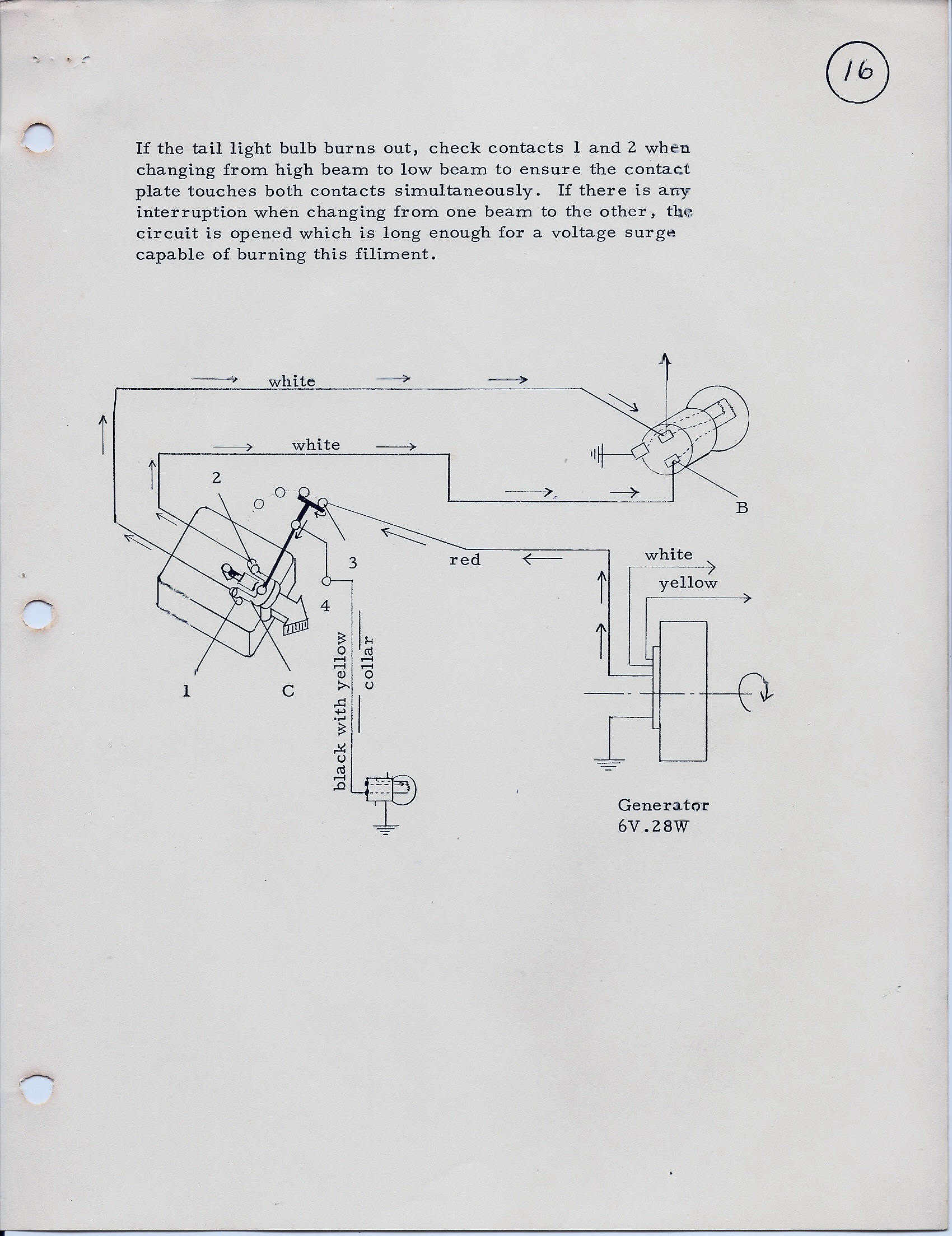 Ducati Singles Technical Information By Monza Wiring Diagram And Sebring Recharge Circuit Page 3